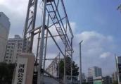 郑州市目前最高最大的两段围挡被彻底拆除