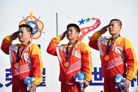 武汉军运会首个比赛日:首金到手!