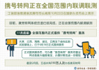 工信部:携号转网在全国联调联测 11月底前提供服务
