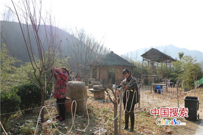 鲁山尧山镇乡村旅游带动400多贫困户家门口增收