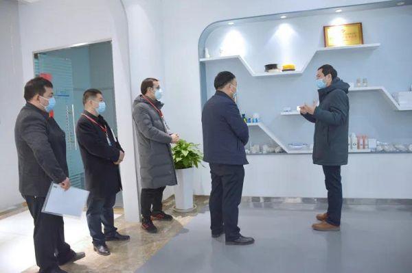 西安高新食药监分局助力点云生物医用口罩生产4