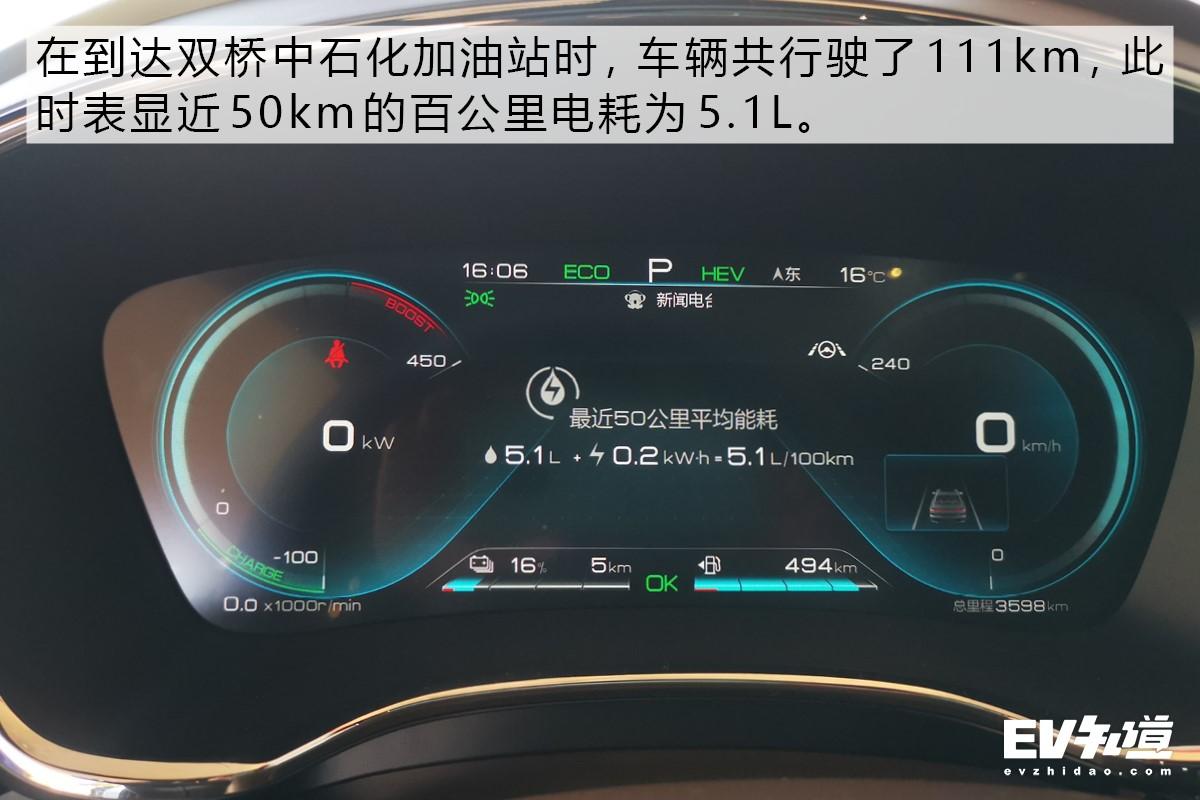 强汉性能+超低油耗 试驾汉 DM四驱性能版