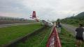 台灣一民航飛機降落時衝出跑道 幸無人傷亡