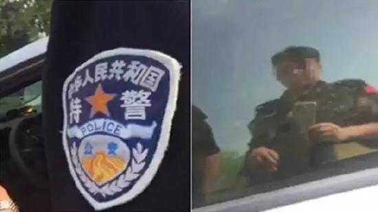 馆陶县辅警在拍摄