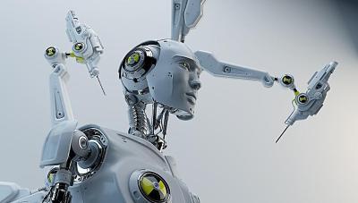 超科幻未来机器人