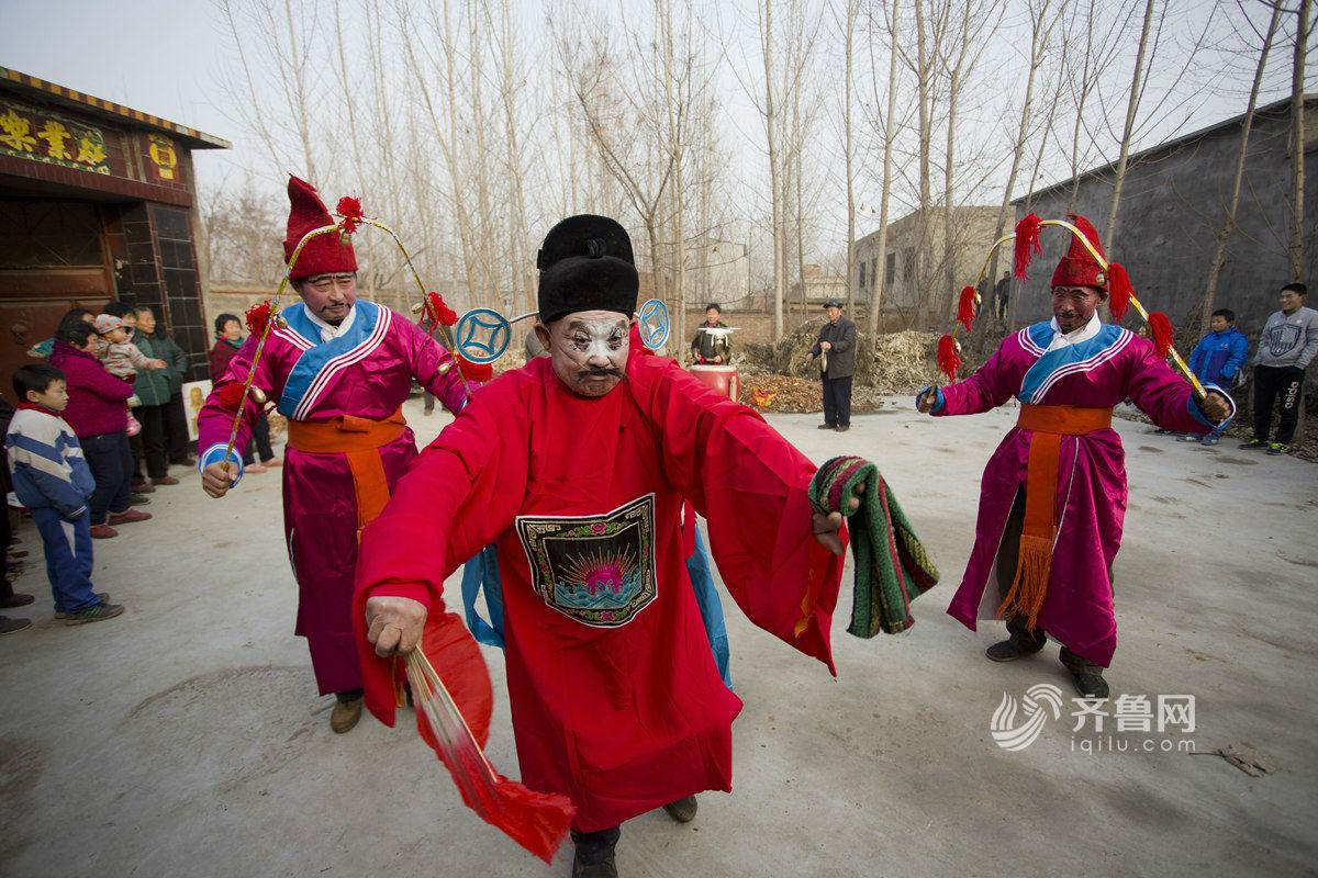 """济南平阴""""加古通"""" 民间舞蹈传承400年"""