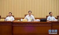 张德江主持召开十二届全国人大常委会第二十一次会议