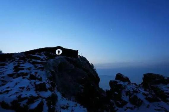 没有亲眼见过泰山之巅的白雪 是身为泰安人最大的遗憾