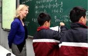 双语:英国将引进上海小学数学教材