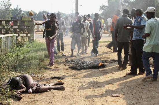 死亡20人_中非共和国发生暴力事件 致至少20人死亡