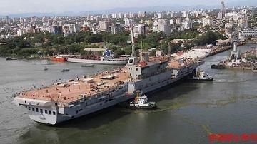 """印度国产航母已""""下水""""三次:造价70亿超过美军核动力航母"""