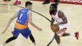 NBA季前赛-周琦8分3篮板 火箭狂胜上海男篮