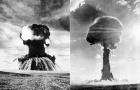 老照片再现前苏联核试验