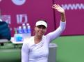 天津网球公开赛次轮-莎拉波娃轻松击败贝古晋级