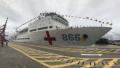 中国海军和平方舟医院船结束访问刚果(布)