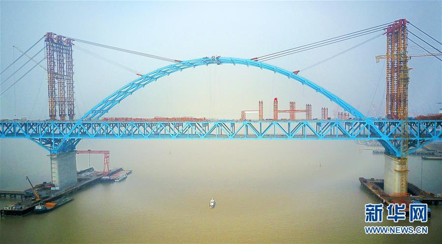 最大跨度公铁两用桥