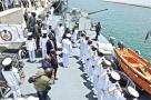 在国外服役的国产战舰
