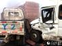 河南高速大雾致40余辆车连环相撞 1死6伤