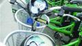 沪上28辆共享电单车被砸 仪表盘疑遭铁锤损毁