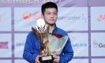 世界乒乓球巡回赛总决赛:中国队斩获3枚金牌