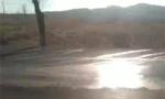 朝阳这段公路车祸频发 村民:大货淌水惹的祸