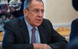 """俄外长:对美国防战略报告称中俄为""""威胁""""感到遗憾"""