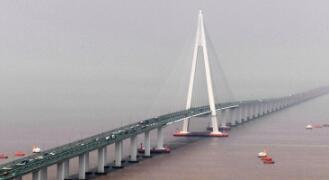 杭州湾跨海大桥风采