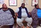 三兄妹体重近1吨
