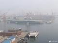 中国第一艘国产航母开始海试