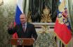 普京出席克里米亚大桥汽车道开通仪式