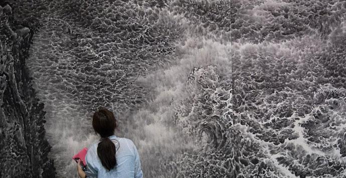 百余位当代水墨艺术家作品亮相杭州