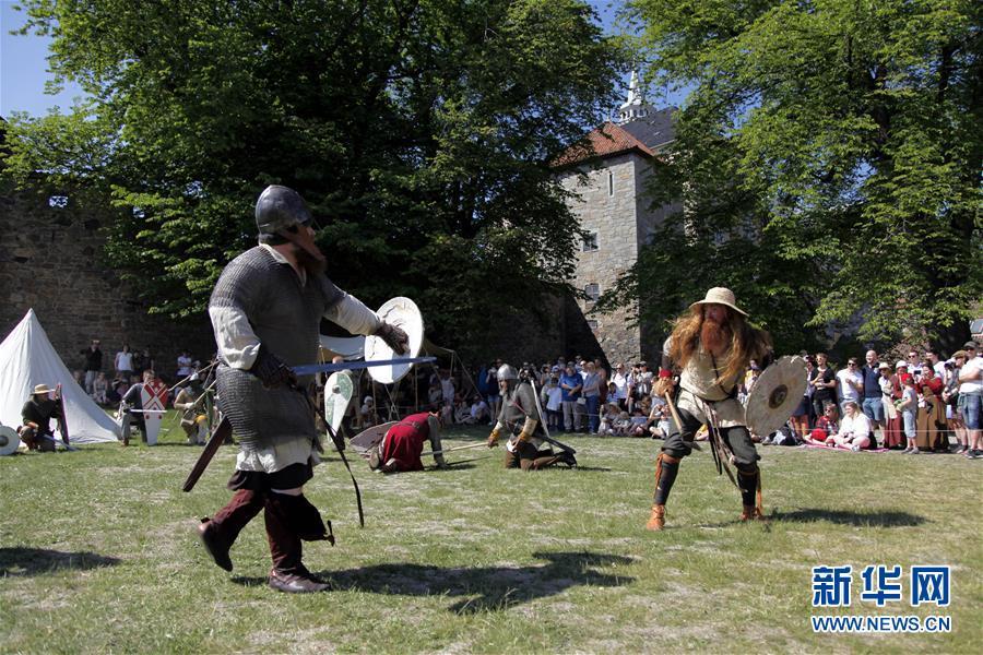 奥斯陆举行中世纪节