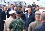 泰国总理巴育到普吉视察搜救工作并看望遇难中国游客家属