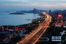 国际夜间马拉松赛事约跑青岛西海岸