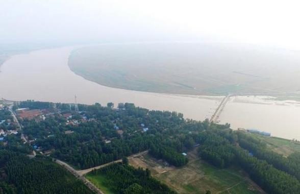 河南兰考:这里是九曲黄河最后一个弯
