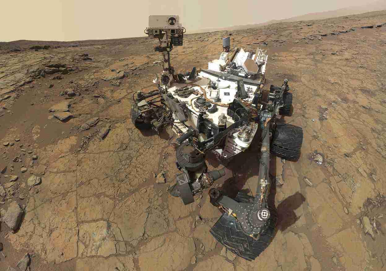 探索!英国公司设想送机器人上火星