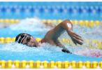 中国选手王简嘉禾夺得亚运会女子1500米自由泳冠军