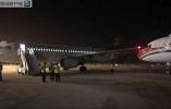 南京禄口机场两客机发生碰擦 机身受损人员无恙