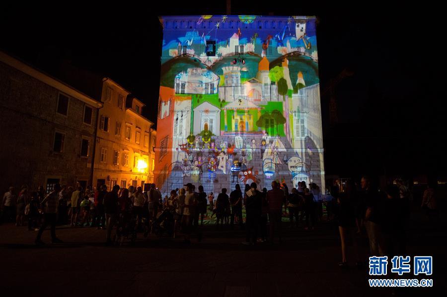 克罗地亚普拉举行视觉艺术节