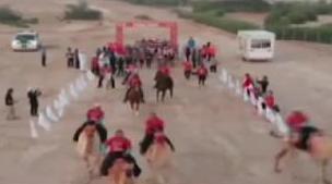 阿联酋:270公里!超级马拉松在沙漠举行