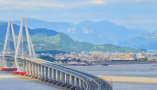 三座跨海大桥串联 看看刚开通的浙江沿海高速到底牛在哪儿?