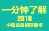 安排上了!一分钟了解2019中国发展预期目标