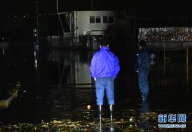 """强台风""""海贝思""""在日本造成33人死亡"""