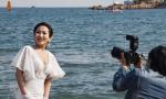 青岛海滨:婚纱外拍复工忙