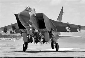 """米格-31战机出征北极 誓要成为酷寒地带""""空中利刃"""""""