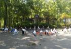 """""""活力校园""""青少年篮球项目举办亲子公益活动"""