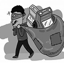 手机城接连发生盗窃案