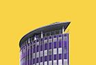 色彩缤纷的建筑构图