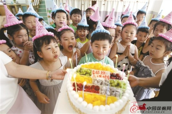 徐州幼师幼教集团:把节日还给孩子 把快乐还给孩子