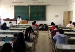 我校第七届大学生化学实验技能竞赛笔试举行